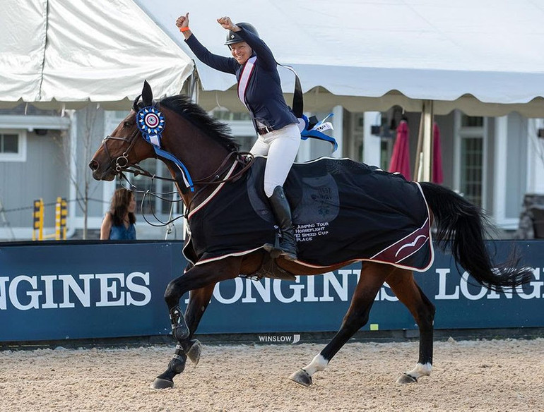 Beezie Madden wins Speed Cup at Split Rock Jumping Tour's Longines FEI Jumping World Cup Columbus