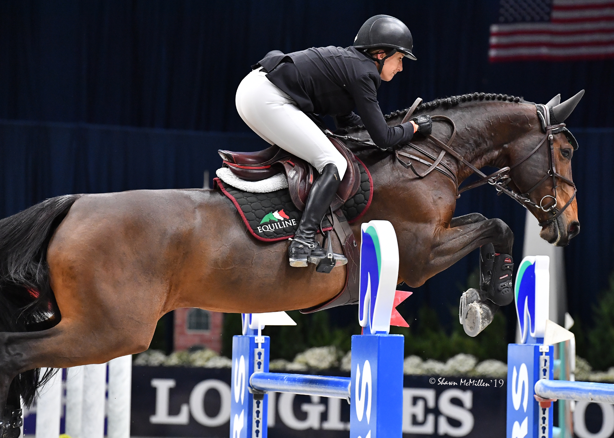 Laura Kraut and Fleurette Fly To Washington International Horse Show Win