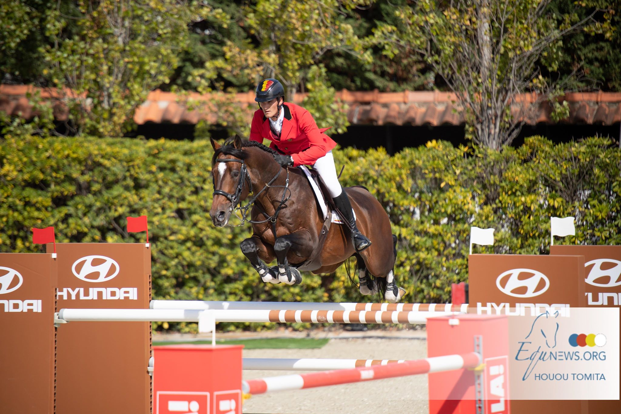 Belgium show jumpers take the lead in Nations Cup finals