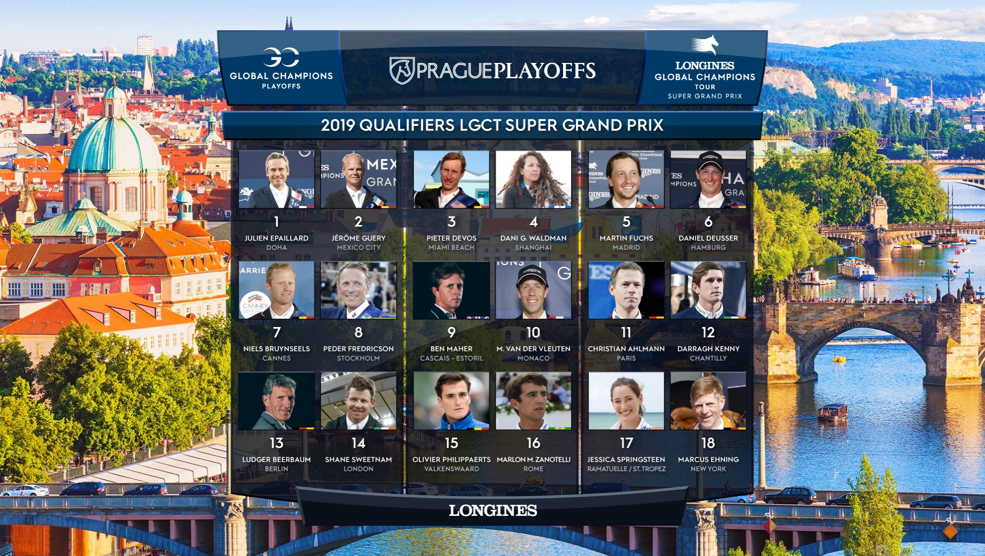 Pas moins de quatre Belges se sont qualifiés pour le Super Grand Prix LGCT