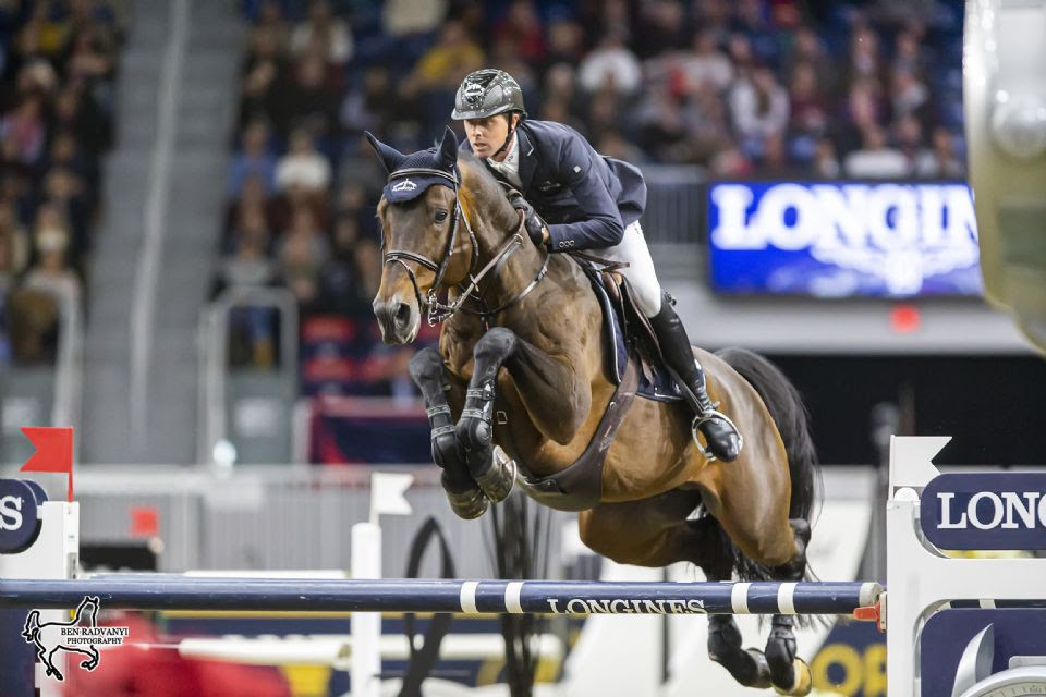 Ben Maher Victorious Over Eric Lamaze in Battle of Olympic Gold Medalists at Royal Horse Show
