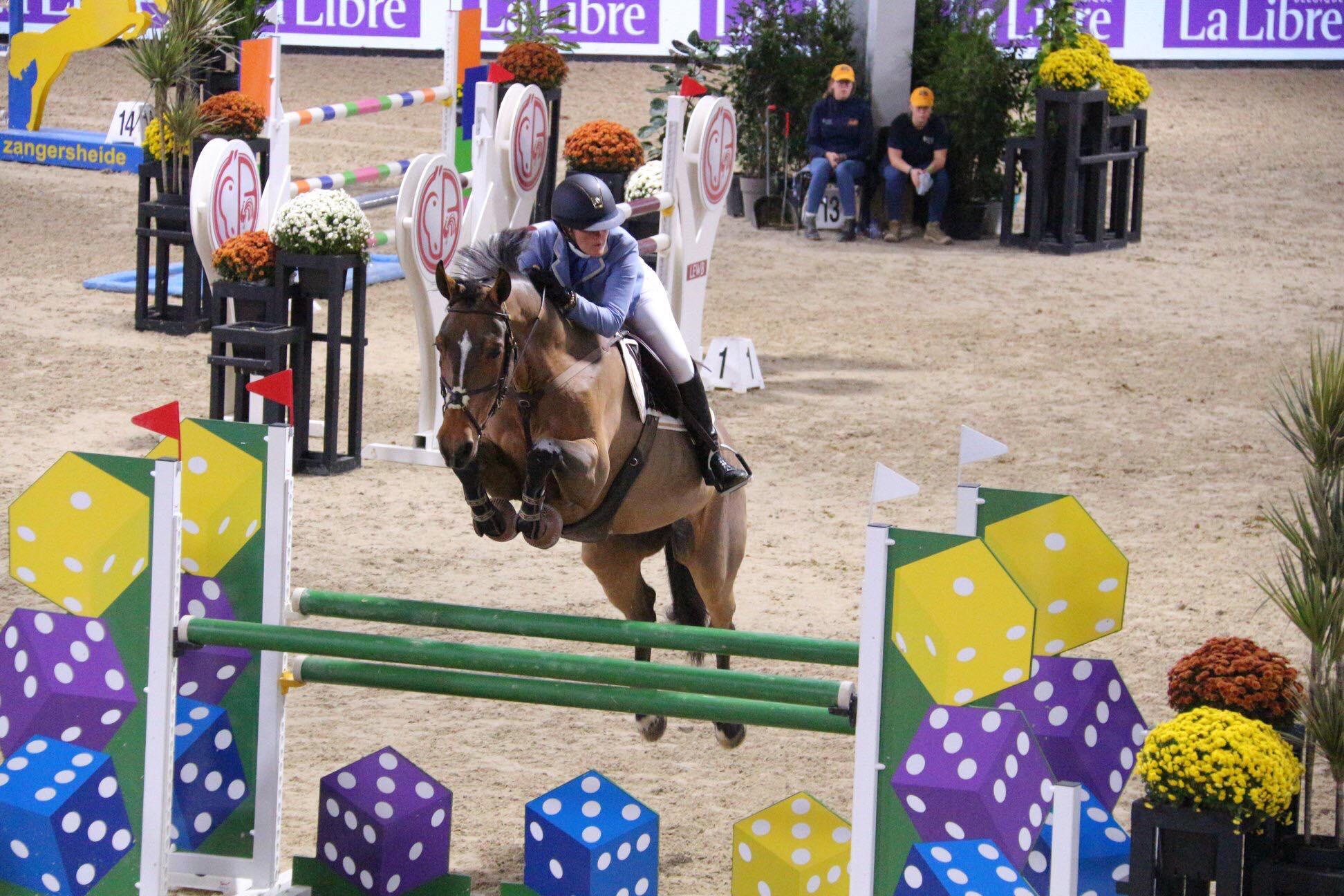 Sandra Buytaert gagne à Liège, Angélique de Vuyst prend une belle deuxième place.