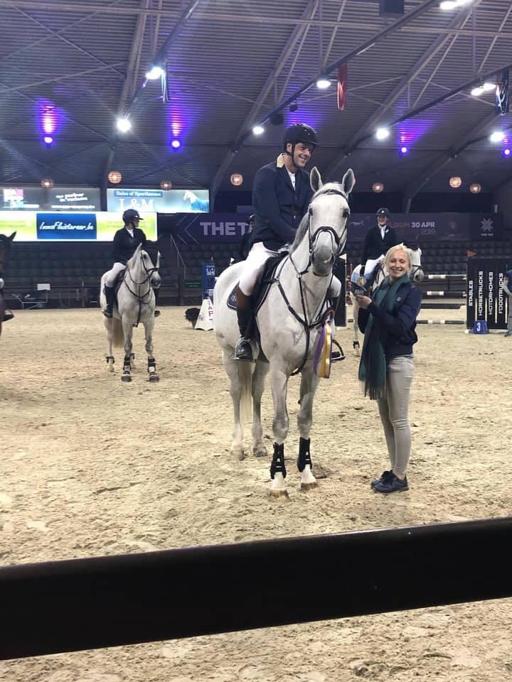 Nico Van Der Plaetsen, Liselotte Peeters en Mirthe Naets winnen Winter Silver II in Lier