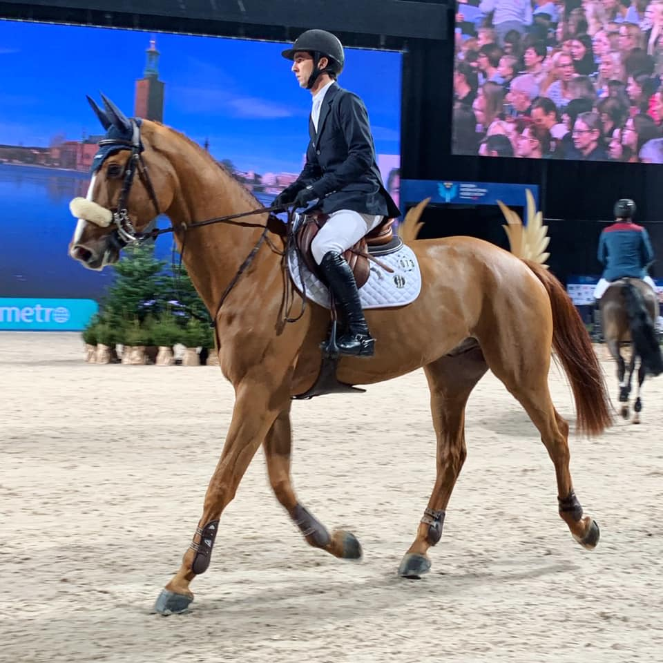 Marlon Zanotelli and Icarus speed to victory in Sweden