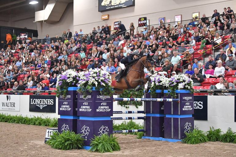 Sternlicht records second Longines FEI World Cup victory in as many weeks with Las Vegas success