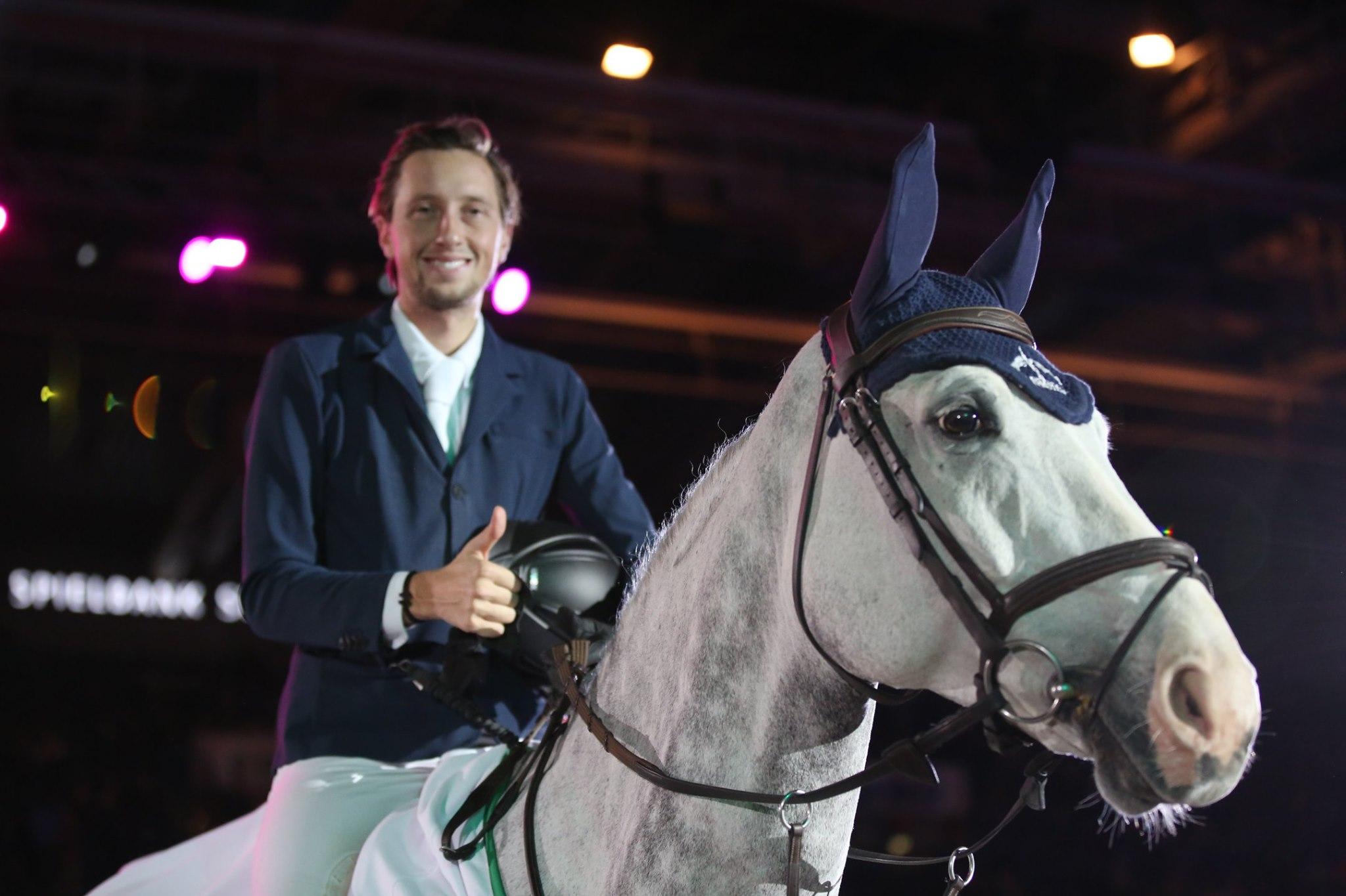 Martin Fuchs wins again  in Stuttgart