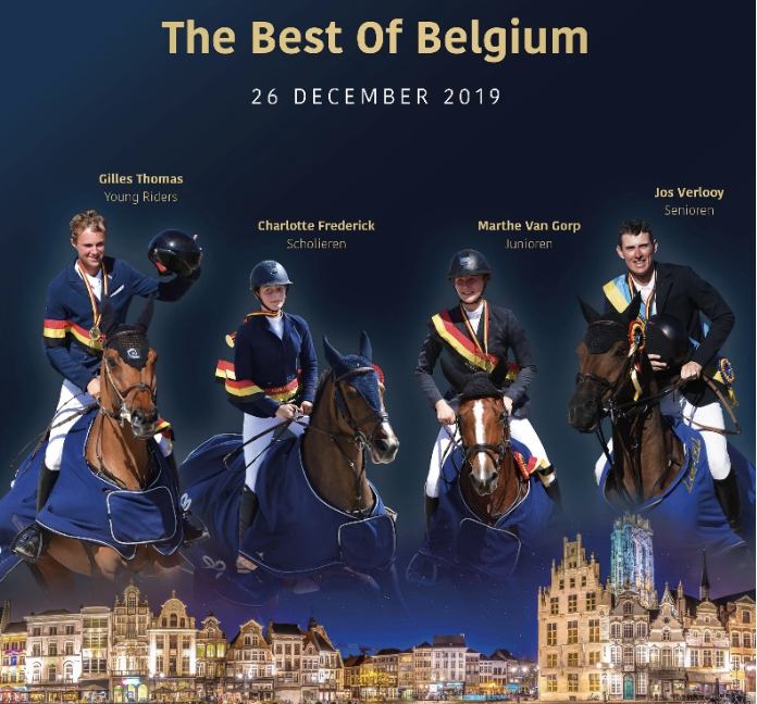 "Le Jumping de Malines lance: ""The best of Belgium"""