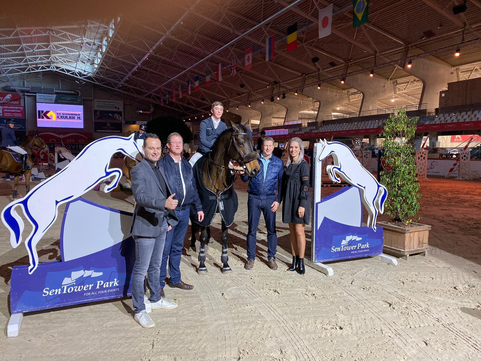 Gilles Thomas schittert op Grand Prix podium in Opglabbeek - equnews.be