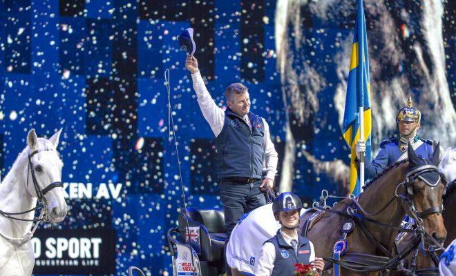 Glenn Geerts knap derde in Werledbeker Stockholm