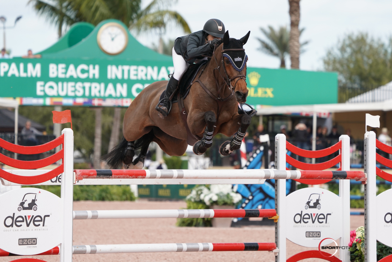 Adrienne Sternlicht and Just a Gamble conquer the CSI4* Wellington Grand Prix