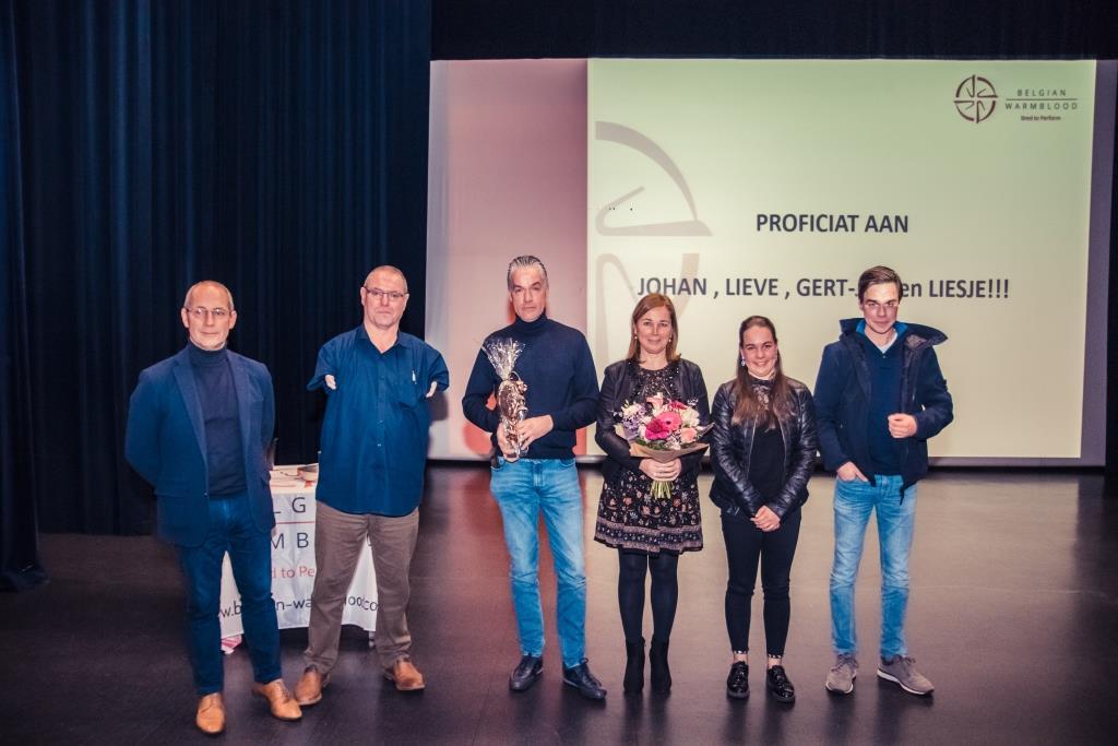 Johan Hubrechts fokker van het jaar in BWP Gewest Bocholt