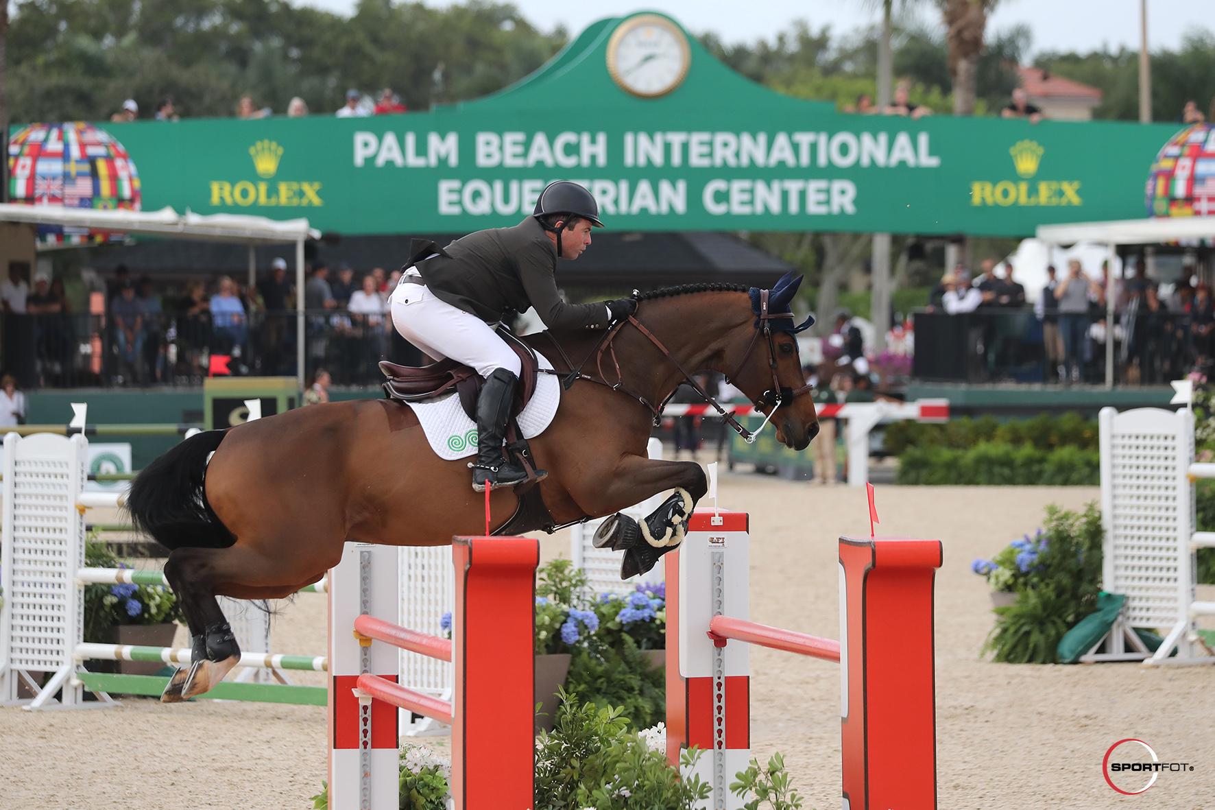 Cian O'Connor Claims First Grand Prix at Winter Equestrian Festival