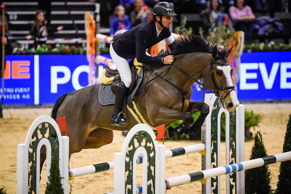 Steve Guerdat makes it a home win in the Basel World Cup