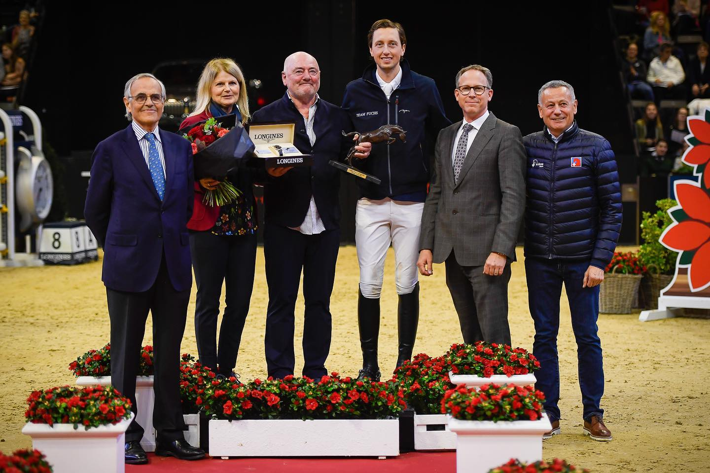 Luigi Baleri announced as 2019 Longines Owner of the Year