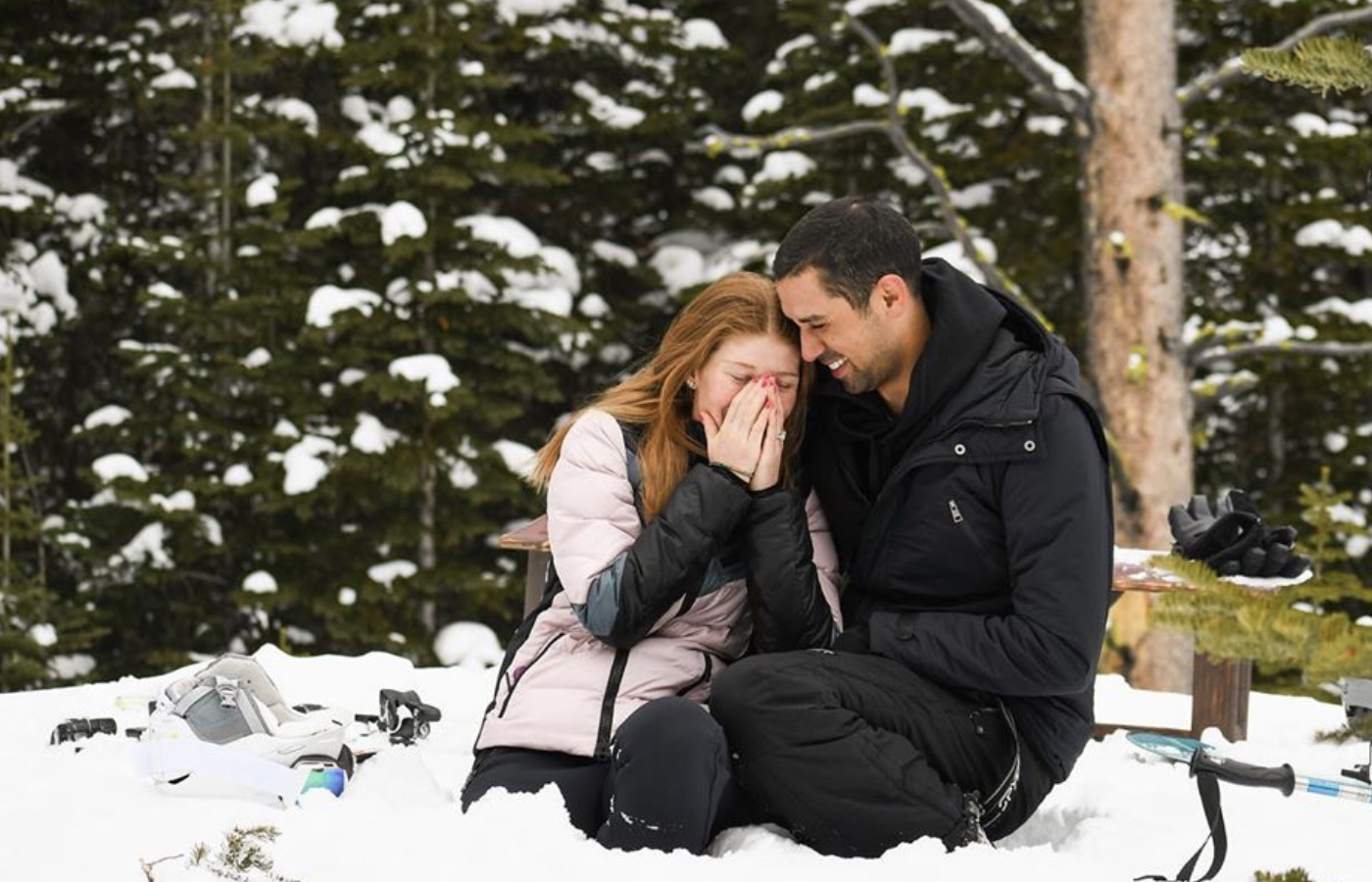 Jennifer Gates and Nayel Nassar got engaged