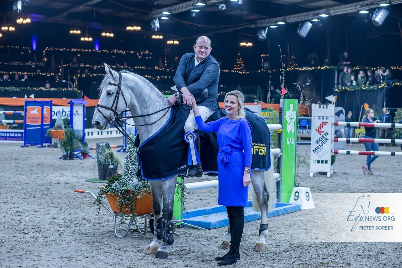 Zoer op kop van podium in oranje bij IICH Groningen