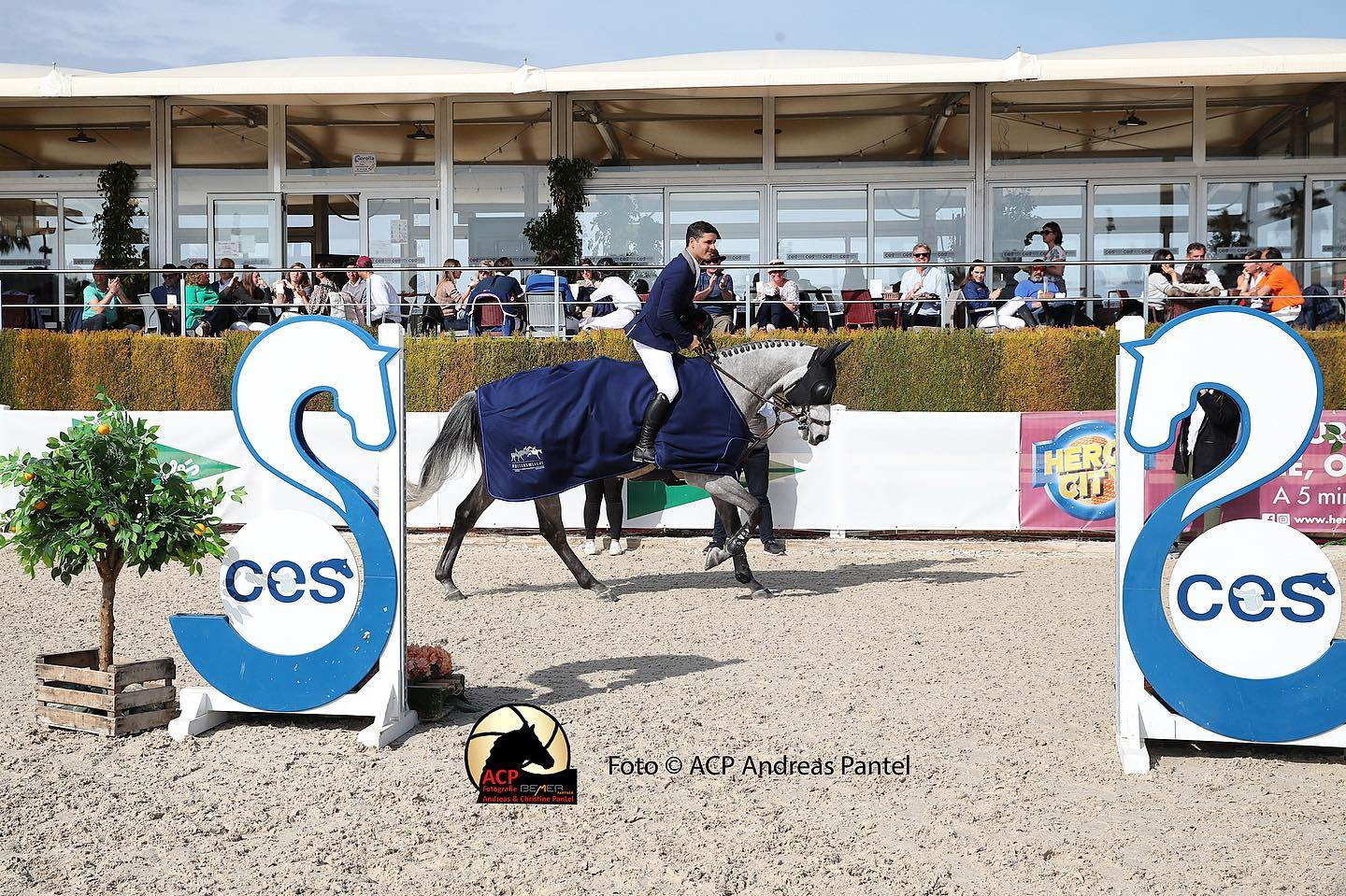 Ismael Garcia Roque makes it a homewin in Valencia's Longines Ranking Class