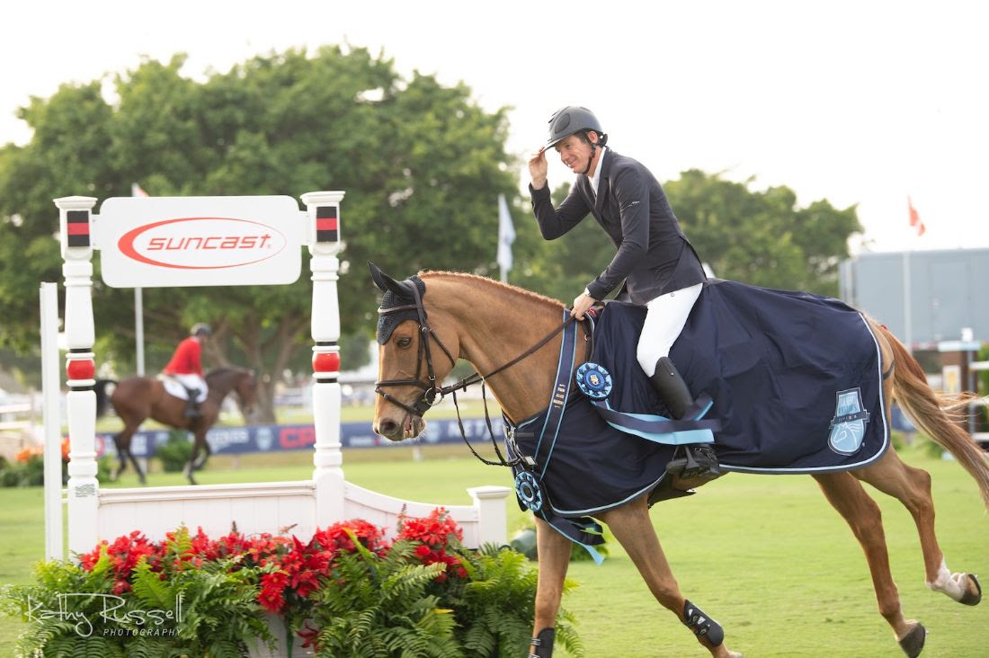 Patience Pays Off for Beat Mändli and Vic des Cerisiers in the CSIO5* Suncast Grand Prix Qualifier