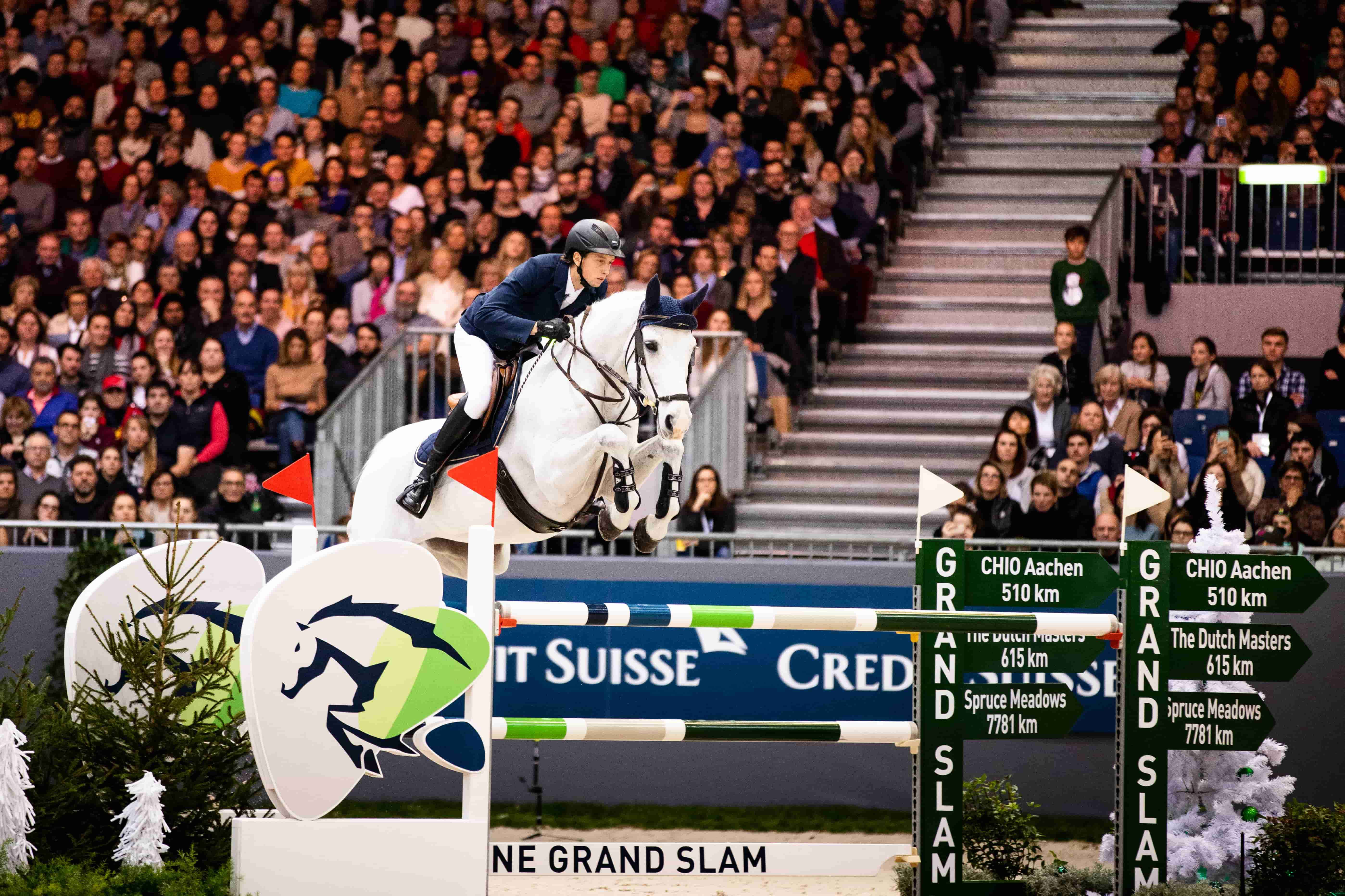 Martin Fuchs keeps Clooney for the Rolex Grand Prix of the Dutch Masters