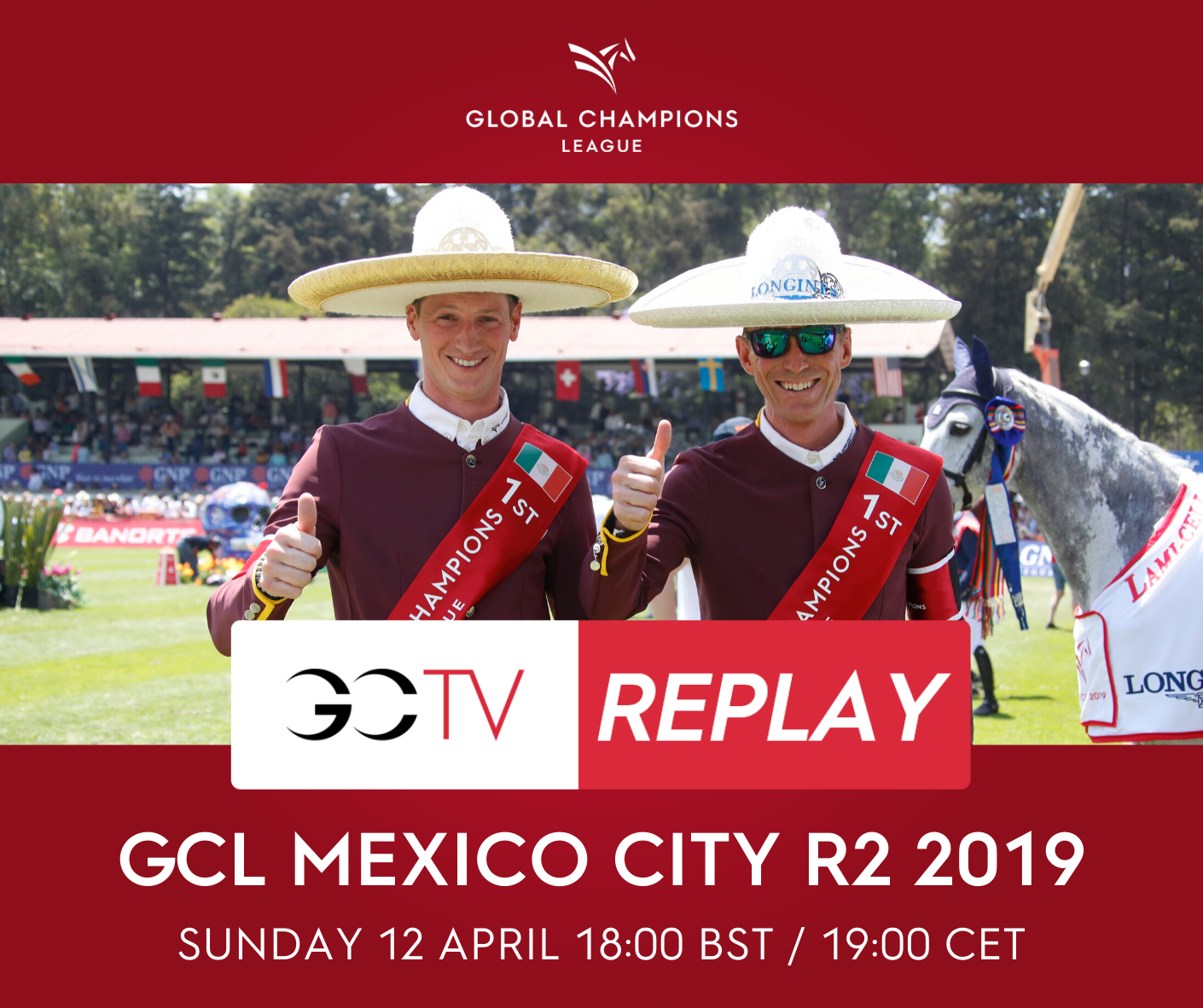 Tip: rewatch the Longines Global Champions League of Mexico City