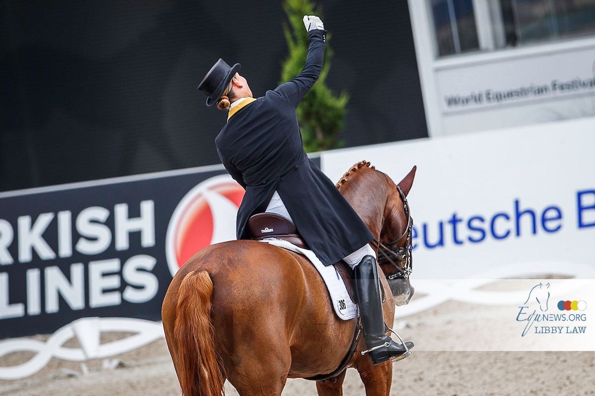 Werndl and Werth both win Grand Prix of Hagen