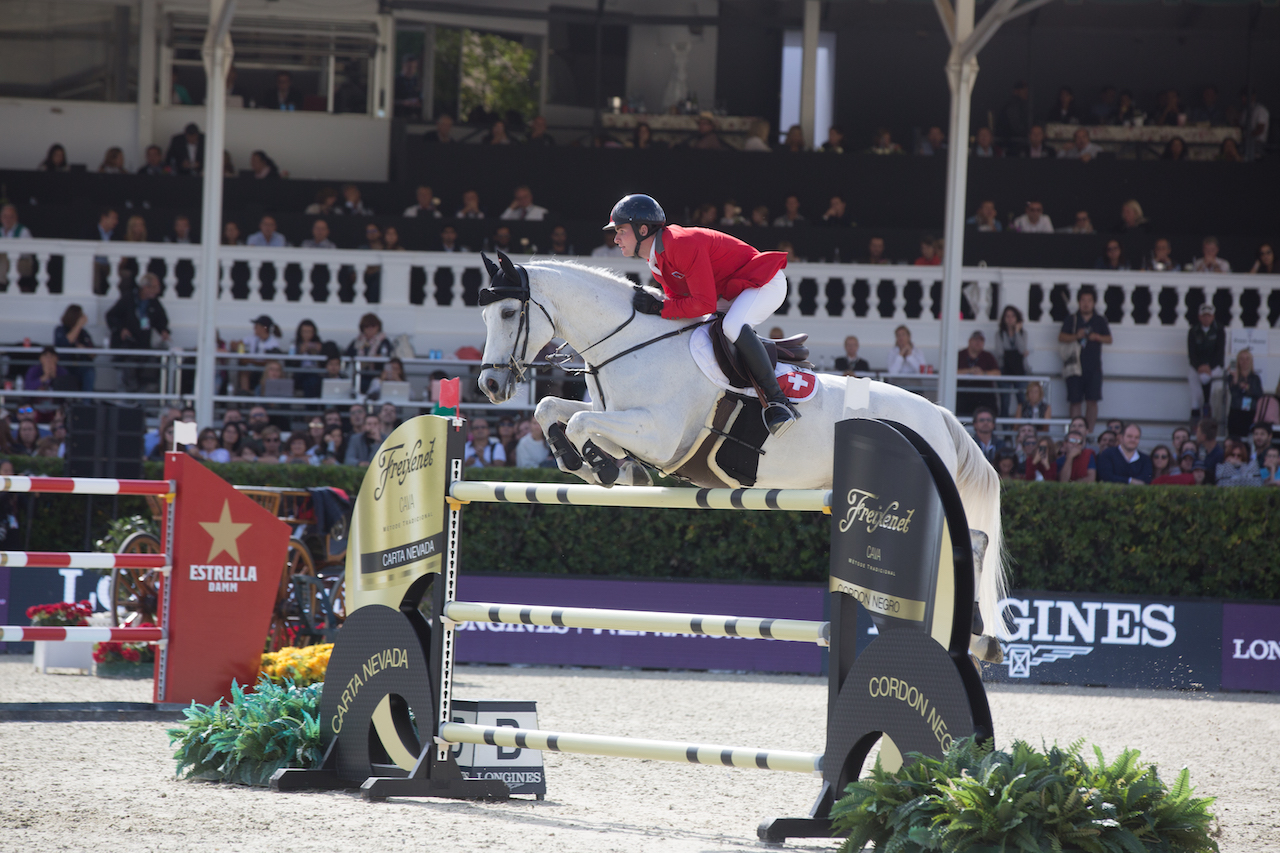 Bryan Balsiger on top in CSI4* Grand Prix of Vilamoura