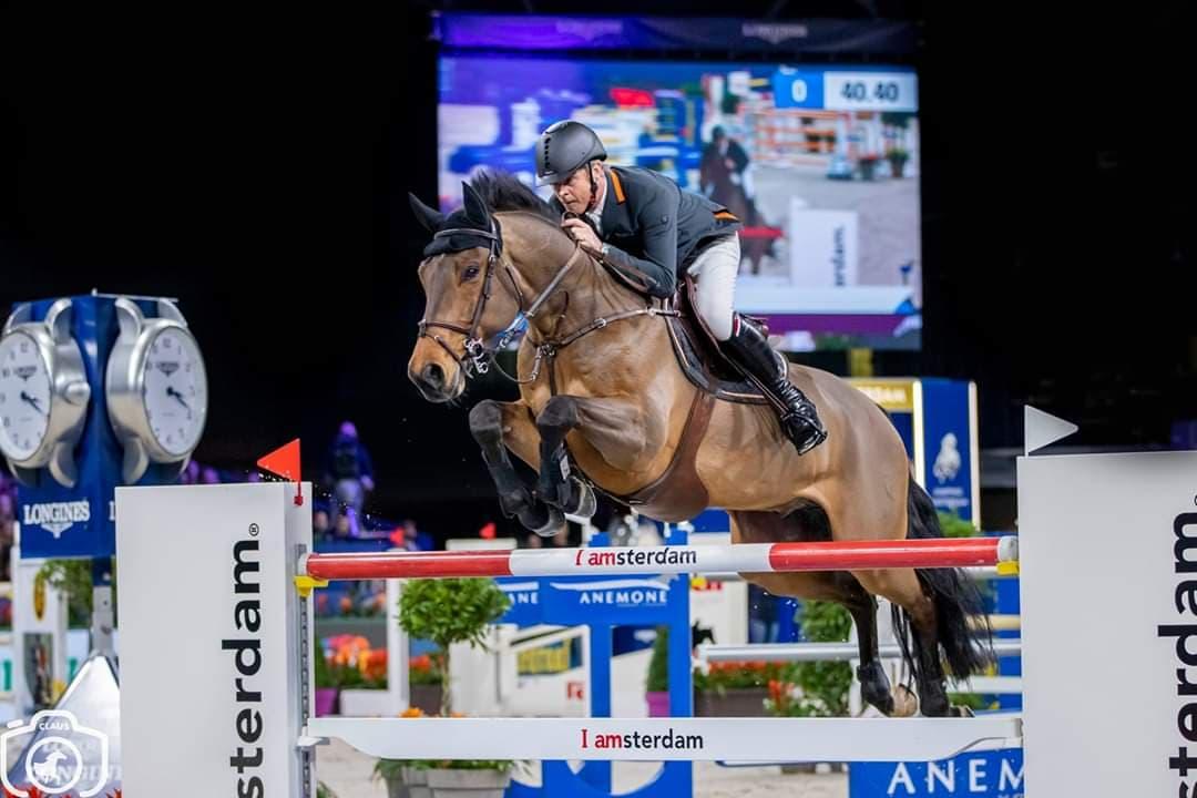 Jeroen Dubbeldam welcomes new Grand Prix horse