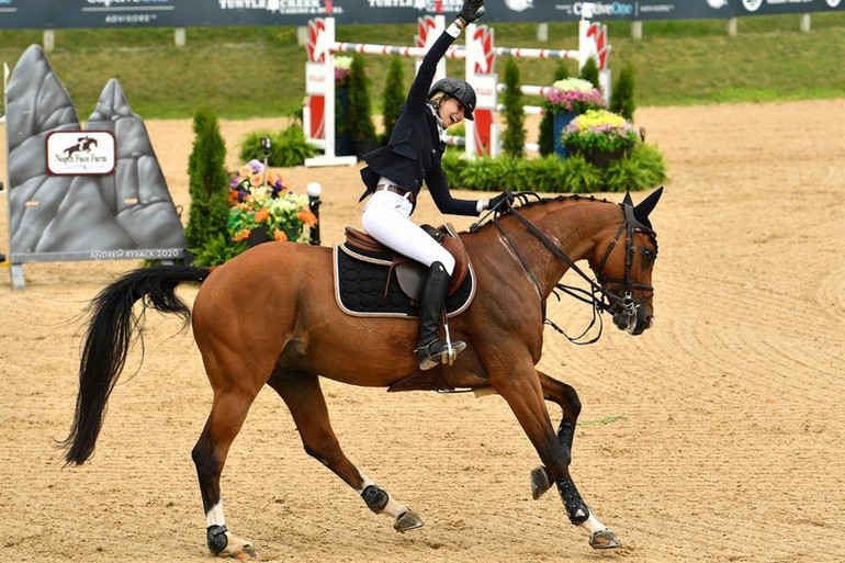 Abigail McArdle adds to Traverse City success with Victorio 5 in $72,900 Staller Grand Prix