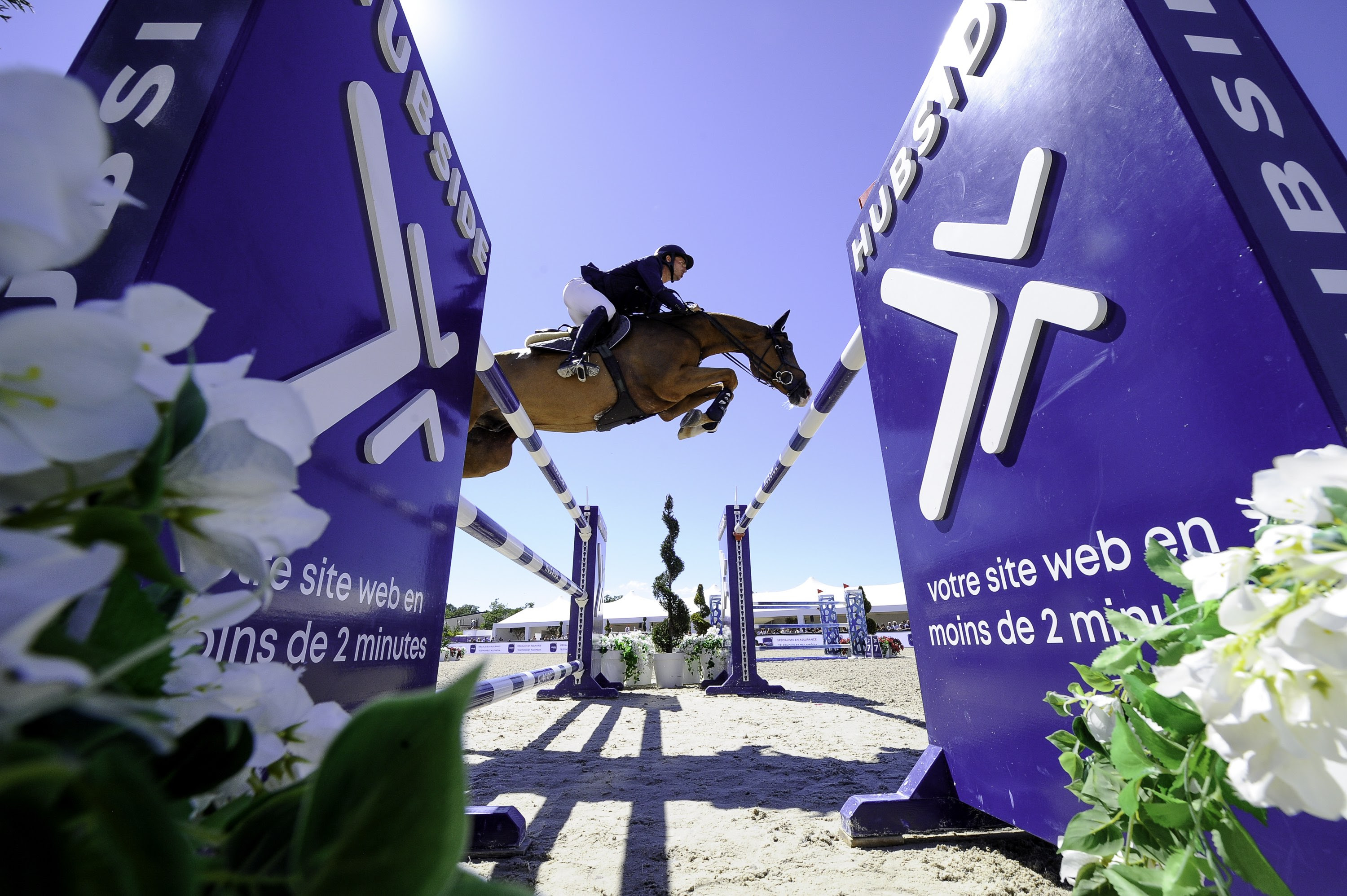 Five best riders in the world battle it out at Hubside Jumping this week