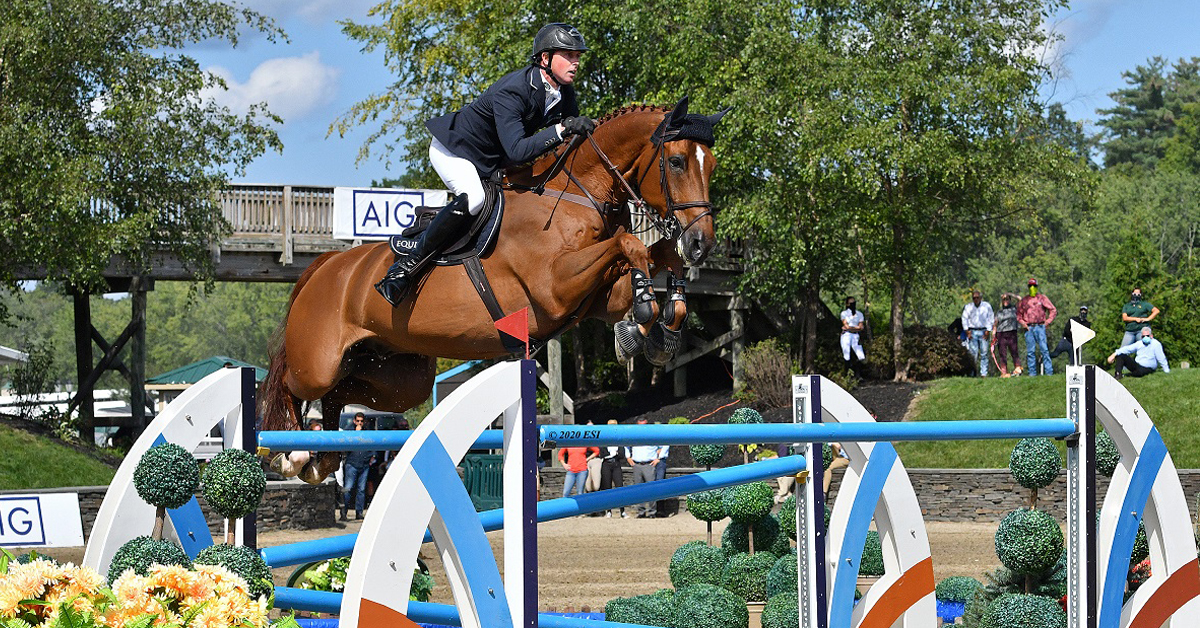 Ben Maher and Explosion W top the Saugerties Grand Prix