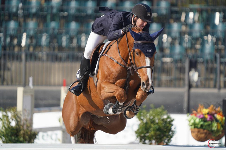 McLain Ward and Contagious are uncatchable in $37,000 Horseware Ireland Welcome Stake