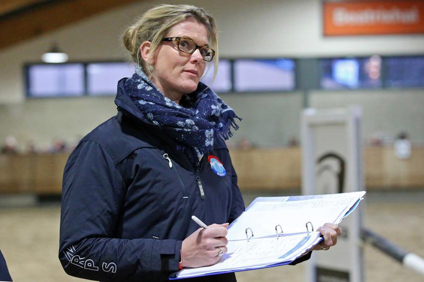 Joyce Lenaerts in NRPS-hengstenkeuringscommissie