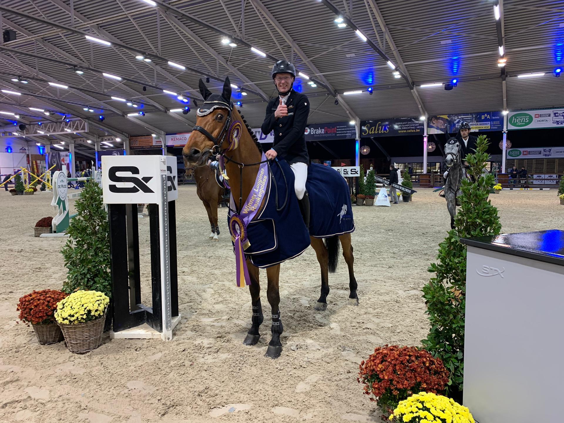 Rieskamp-Goedeking wins Longines Rankingclass of Azelhof
