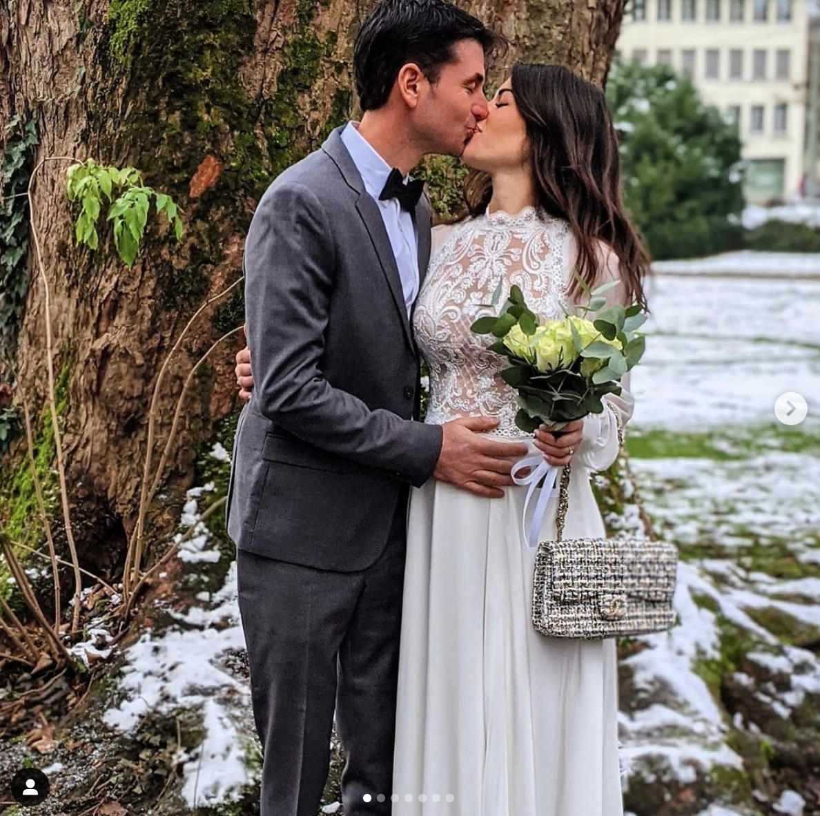 Steve Guerdat and Fanny Skalli married