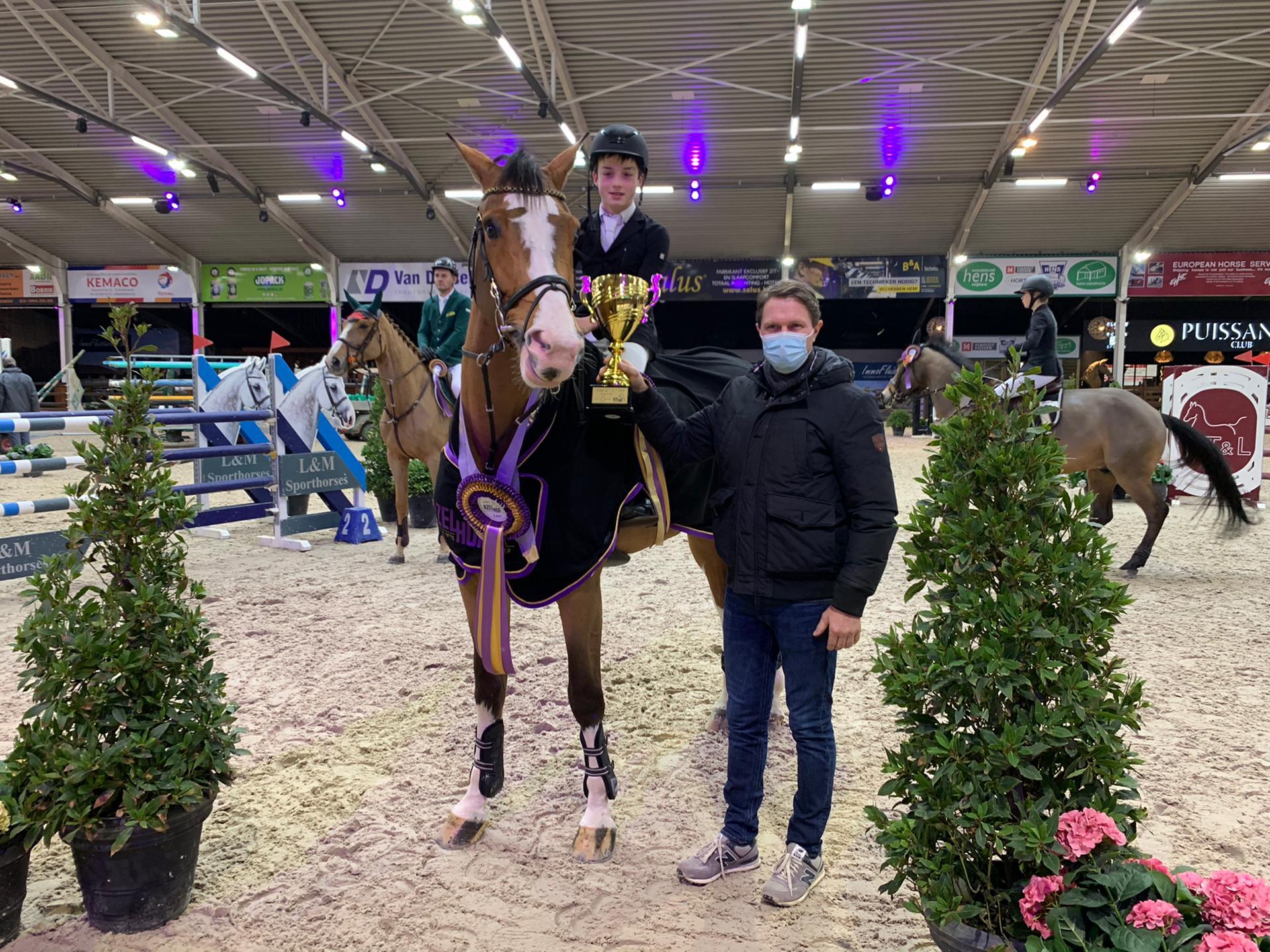 CSIYH Lier: Veldhuis en Kramer scoren top tien klasseringen in finale