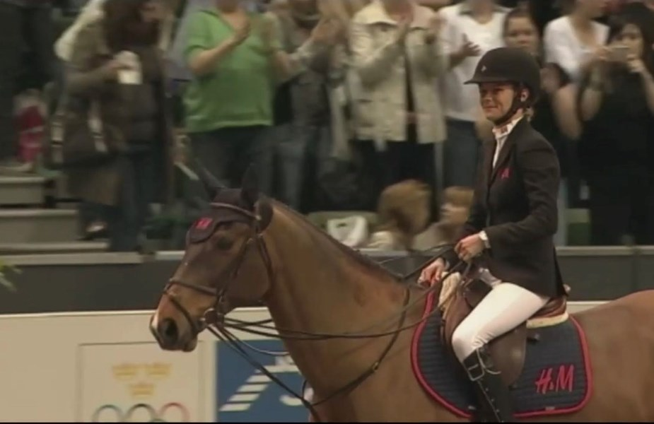 Olympic mare Butterfly Flip passed away
