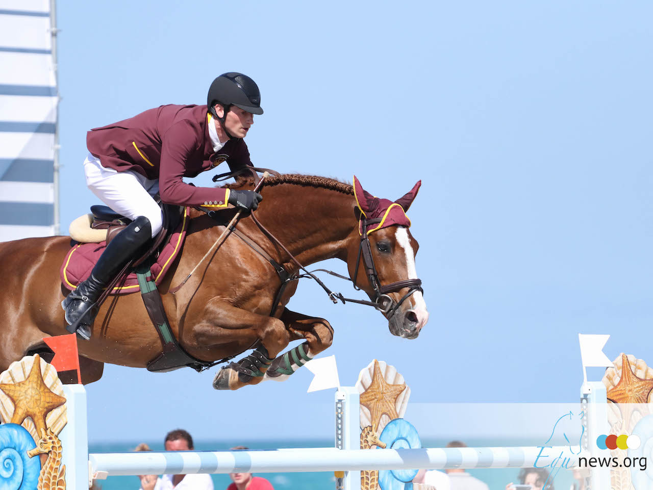 Daniel Deusser remporte le Grand Prix CSI5* de Wellington.