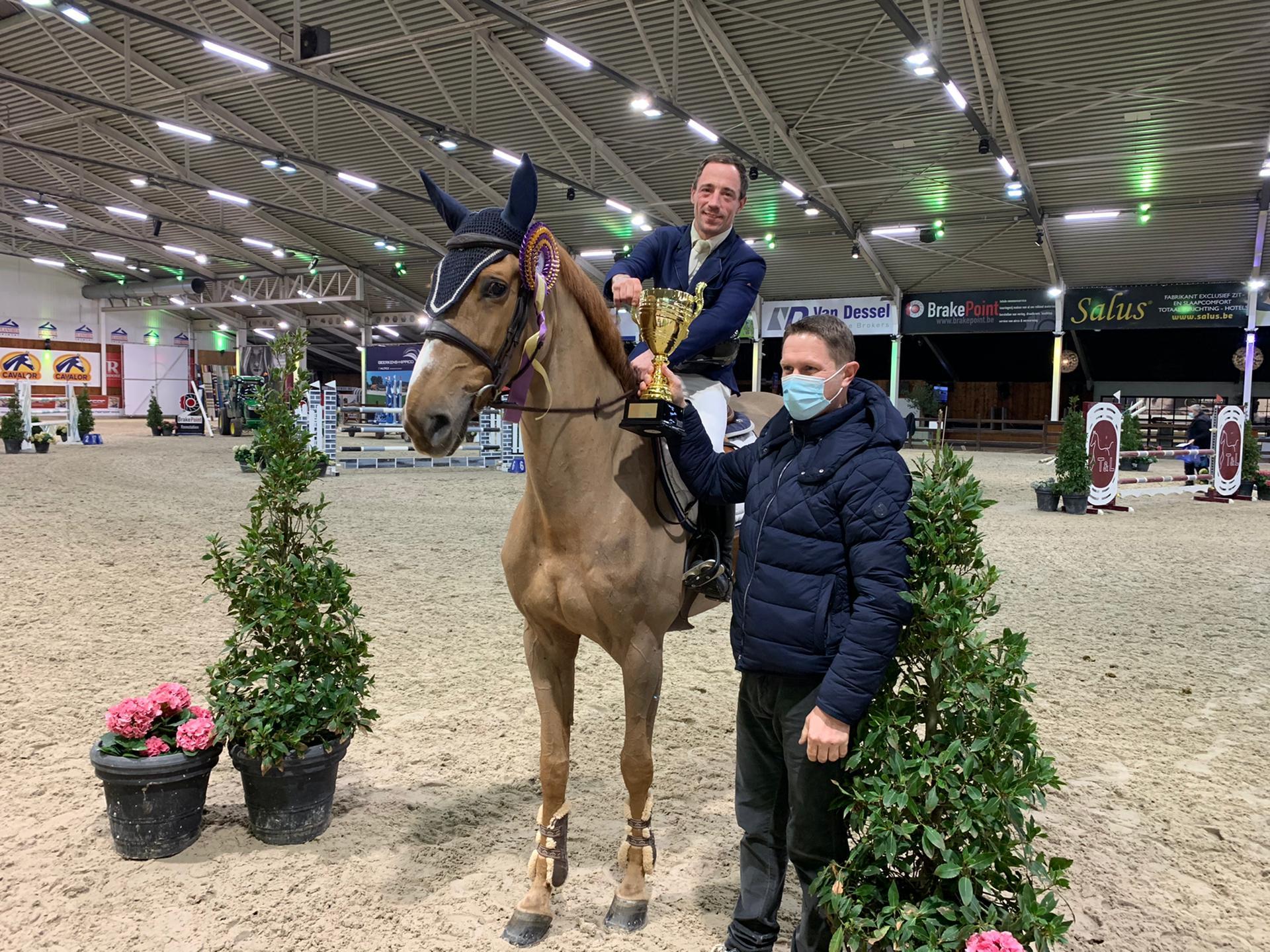 Thierry Goffinet en tête d'un podium belge à Lier
