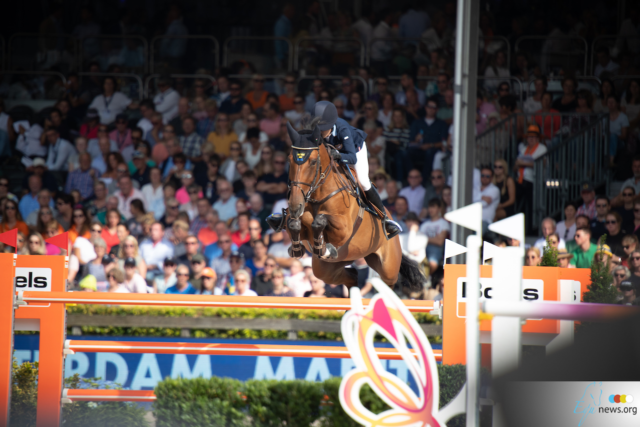 It's a win for Malin Baryard-Johnsson in the LGCT Grand Prix of Rome