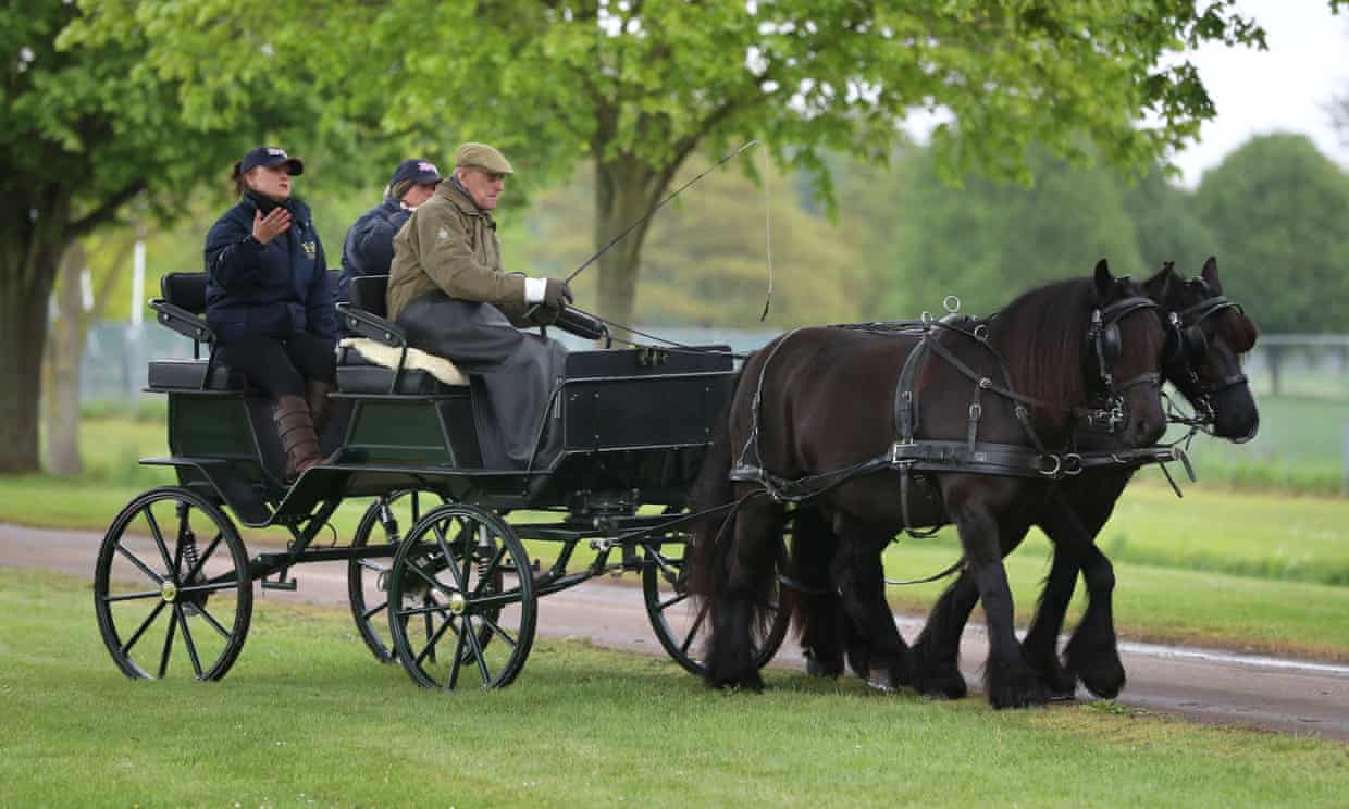 Lady Louise inherits Prince Philip's horses