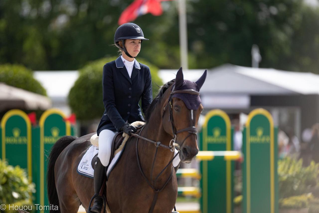Belgium and Evelyne Putters take the lead at Junior European Championships