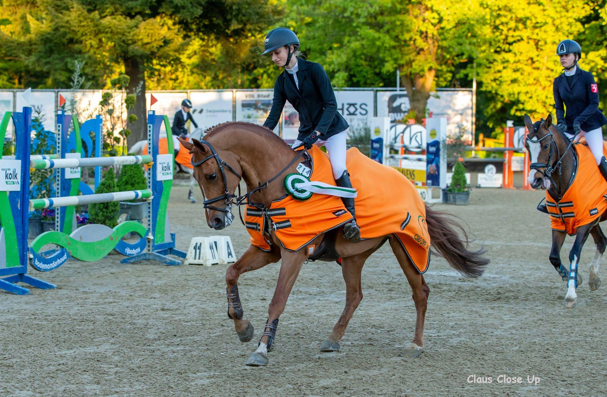 Winst voor Laure Tijskens in GP Wierden