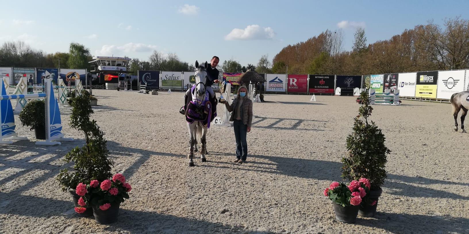 Thierry Goffinet remporte également la finale des 7 ans à Lier.