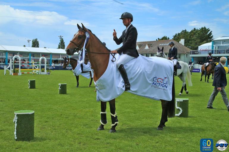 Guery zorgt voor Belgische overwinning in 1m50 ranking La Baule