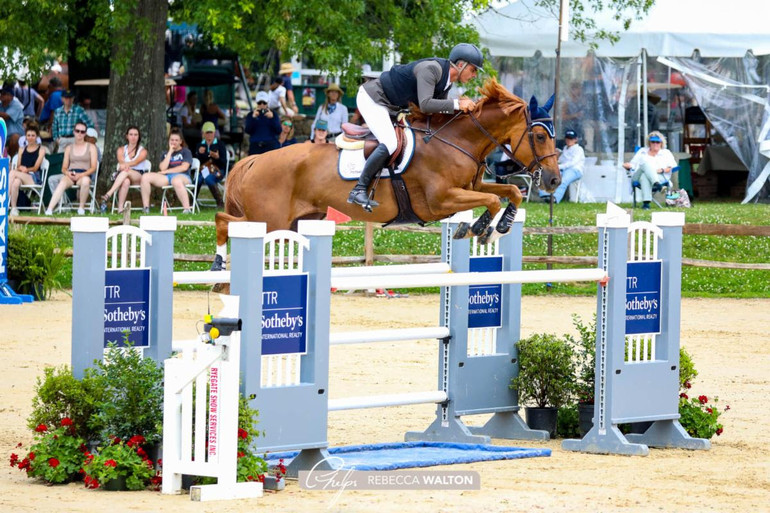 Rodrigo Pessoa and Venice Beach emerge victorious in $37,000 Power & Speed Stakes CSI4* at Upperville Colt & Horse Show