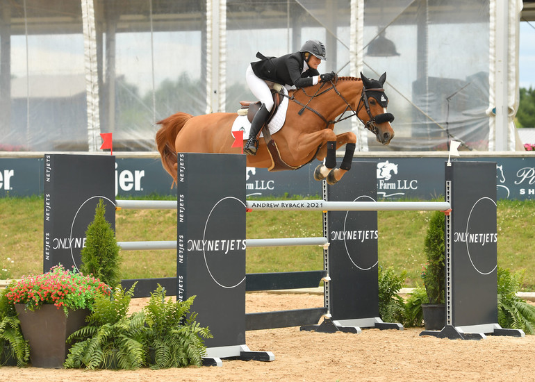 Tiffany Foster and Vienna conclude Traverse City Spring Horse Show with win in Grand Prix CSI2*