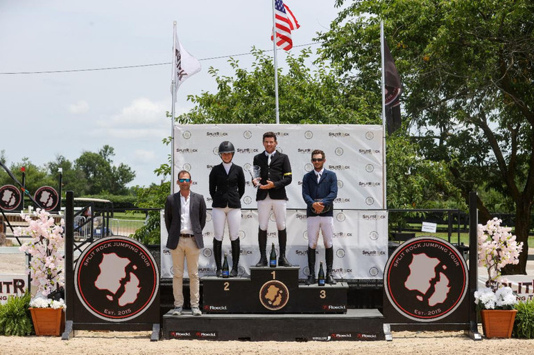 Conor Swail and Vital Chance victorious in $100,000 1.50m Grand Prix CSI3* at Split Rock Jumping Tour