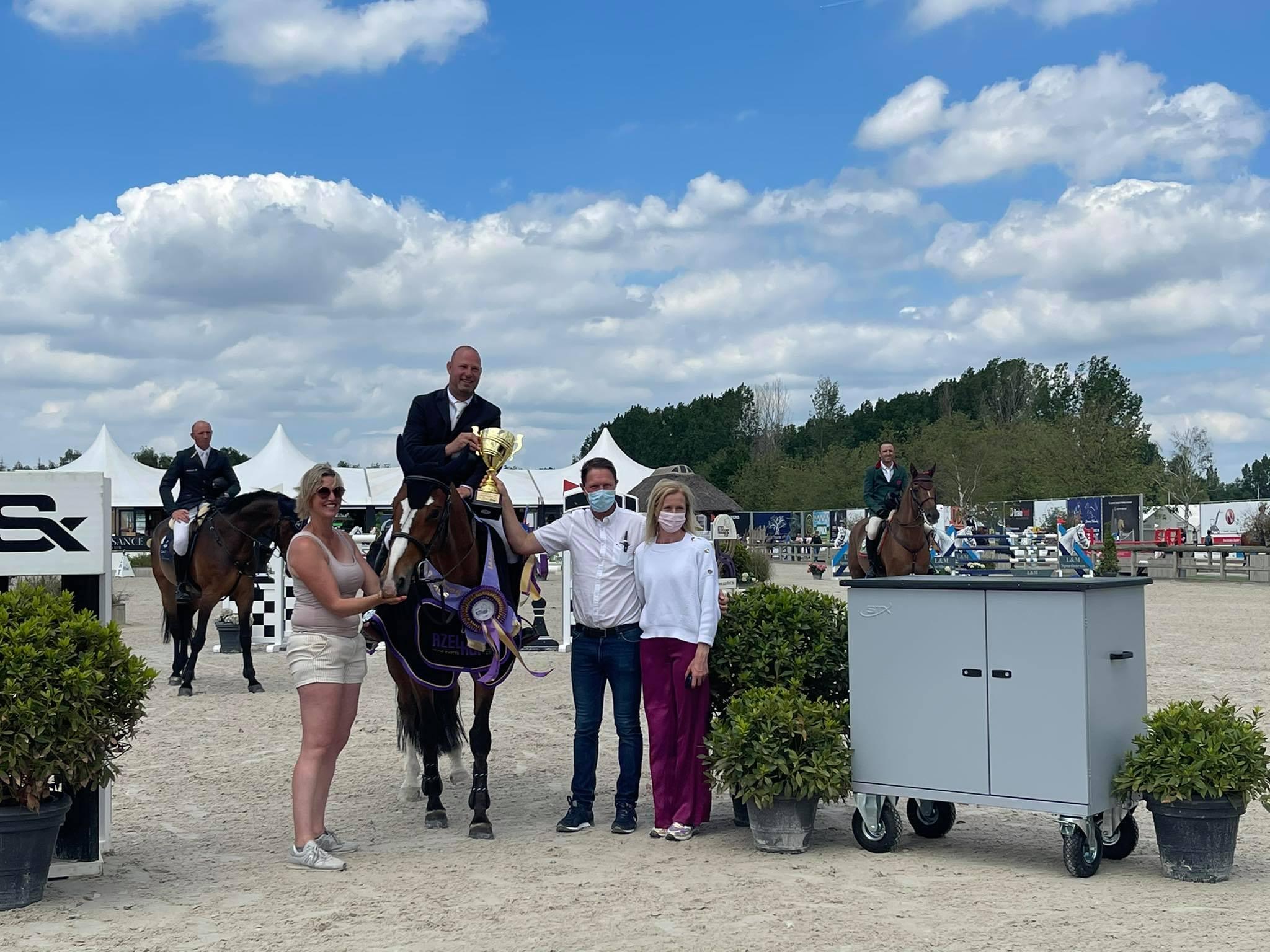 Bart Clarys assure la victoire belge à l'Azelhof et un top 5 pour Katja Haep dans la catégorie 6 ans.