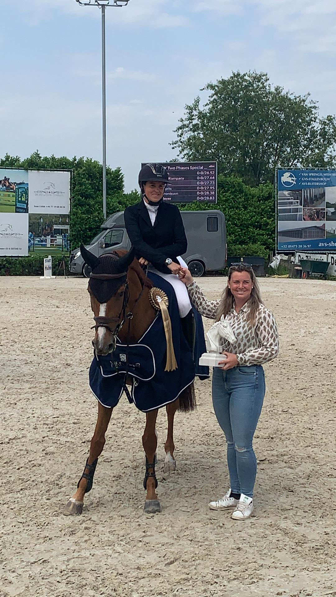 Kim Emmen wins the main competition in Bonheiden with an ultra-fast chrono