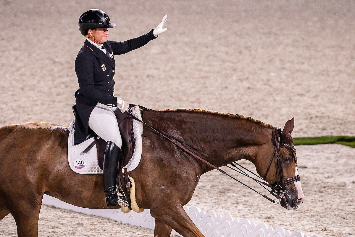 Bella Rose 2 of Isabell Werth retires from the sport